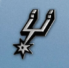 San Antonio Spurs Heavy Metal Auto Emblem [NEW] Chrome Car Decal CDG