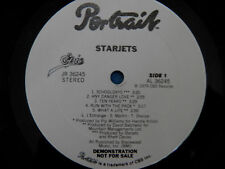Starjets - God Bless - RARE White Labels Promo 1979 LP Rock Punk LISTEN