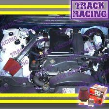 2002 2003 CHEVY TRAILBLAZER GMC ENVOY BRAVADA 4.2 AIR INTAKE KIT+K&N Black Red 1