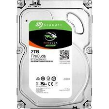 """Seagate ST2000DX002 FireCuda 2TB HDD SATA 3.5"""" Internal Hybrid Drive Warranty"""
