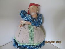"VINTAGE OLIMPIC 1980 RUSSIAN SAMOVAR DOLL TEA POT WARMER 20"" TALL"