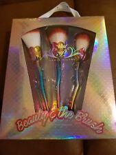 Paris Hilton Mermaid The Beauty & The Blush 3 pc Brush Set