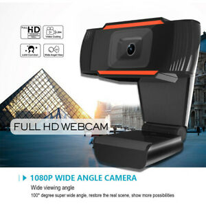 5 Mega pixel Autofocus Webcam Wide Angle 1080P Computer Camera With Microphone ✅