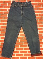LL Bean Flannel lined 8 Reg. 28 X 29.5 Relaxed Blue Jeans 100% cotton