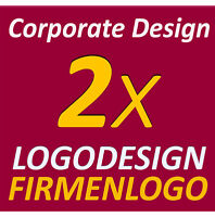 2x Logodesign Layout Service Firma Firmengründung Firmenlogo Corporate Design