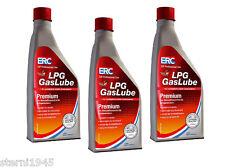 3 STÜCK ERC GASLUBE 1 LITER PREMIUM LPG ADDITIV GAS 1000ML ZUSATZ AUTOGAS