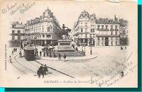 CPA 45 - Orléans place du martroi