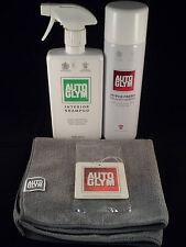 Autoglym Interior Pack - Microfibre Cloth, Air Freshener, Shampoo, Hyperfresh