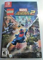 NEW  WB TT LEGO Marvel Super Heroes Villains 2 Nintendo Switch Video Game SEALED