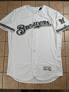 Milwaukee Brewers Authentic Blank Jersey Majestic Flex Base Men's NWT