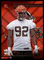 2018 PANINI XR RED CHAD THOMAS RC 25/299 CLEVELAND BROWNS #134 PARALLEL