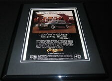1981 Oldsmobile Cutlass Sedan 11x14 Framed ORIGINAL Vintage Advertisement