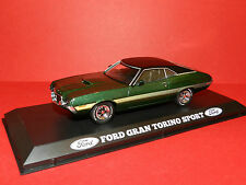 Greenlight 1/43 1972 Ford Gran Torino Sport Green MiB