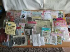 #88 Craft Room Clear Out - Stamps (50+ Packs)