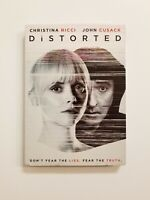Distorted DVD 2018 Christina Ricci, John Cusack Brand New Sealed Fast Shipping