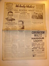 MELODY MAKER 1937 MAY 22 HENRY HALL ROY FOX JACK HYLTON JAZZ SWING ROSEBERY