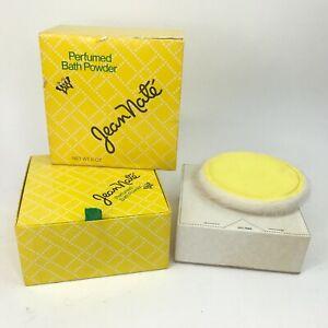 Vintage NOS Jean Nate Perfumed Bath Powder NEW 6 Oz w/ Puff Charles of the Ritz