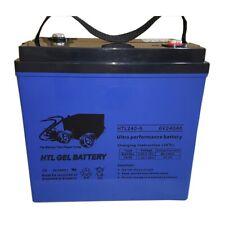 GOLF Cart 36v Set Ultra High Performance GEL Battery 240 Amp 6v X 6