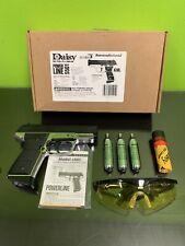 Daisy PowerLine 5501 CO2 BlowBack Pistol .177 BBs GlassesBlack- Mfg. Refurbished