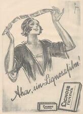 J1121 LIGNOSE Rollfilm & Filmpack - Pubblicità grande formato - 1927 Old advert