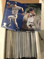1995 Upper Deck Sp Cuts & 1997 Leaf Limited (incomplete)