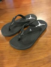 Nike Jordan Girls Flip Flops sandals new 580575 010 Toddlers Size 11