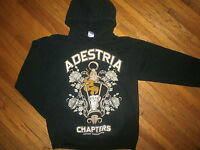 ADESTRIA HOODIE Hooded Sweatshirt Band Concert Chapters Artery Recordings Small