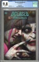 DCeased Unkillables #3 CGC 9.8 Comics Elite Edition A Ryan Brown Variant 500 COA