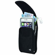 Nite Ize Clip Case Cargo Universal Rugged X-Tall Holster - Vertical Black
