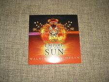 EMPIRE OF THE SUN - WALKING ON A DREAM - 2 TRACK LIMITED ADVANCE RADIO PROMO