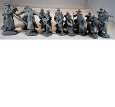 1:32 WWII German Long Coat Infantry Set #4 Plastic Toy San Diego Figures