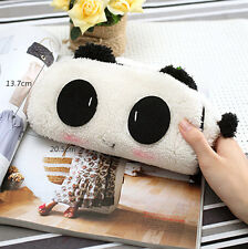 Soft Cute Plush Cosmetic Makeup Cartoon Storage Bag Pen Pencil Case Pouch EP*ss