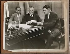 Vintage 1930's Photograph Babe Ruth with Christy Walsh PSA Type 1 Original Photo