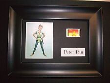 PETER PAN Framed Movie Film Cell Memorabilia - Compliments poster dvd animation