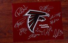 GFA Atlanta Falcons * 2014 TEAM * Signed 11x14 Photo F1 COA