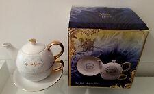 New Disney & the Beauty Beast Tea For 1 Teapot Cup Plate Mug Set Chip Mrs Potts