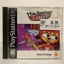 Um Jammer Lammy (Sony PlayStation 1, 1999) PS1 Disc & Manual Only FAST SHIPPING!