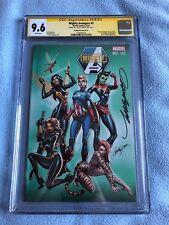Mighty Avengers #2 (Dec 2013, Marvel) CGC SS 9.6 NY Comic Con JSC Variant