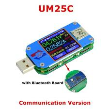 RD UM25C USB 2.0 Voltmeter Ammeter Tester Voltage Current Meter Ohm Measure S2D9