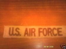 2 DESERT TAN USAF POCKET TAPES UNISSUED