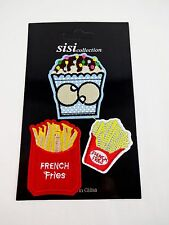 Cupcake French Fries Patches Iron On Package Of 3 Sew On
