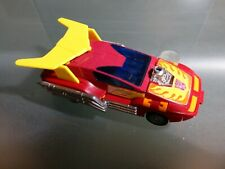 1986 Transformer Autobot Hotrod G1 Rodimus 1986 METAL FEET and RUBBER TIRES