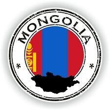 Mongolia Sello Sello Pegatina para Coche Camión Portátil Tablet Nevera Puerta