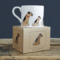 Sweet William BORDER TERRIER Mug | Great Gift for Terrier Dog Lovers | FREE P&P
