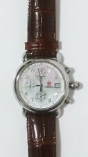 Michele CSX Women's Watch 71-2000/3000  Chronograph Mother of Pearl.