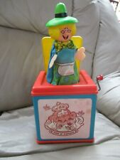 VINTAGE 1971 MATTEL MOTHER GOOSE MUSICAL JACK-IN-THE-BOX TOY WORKS!!!!