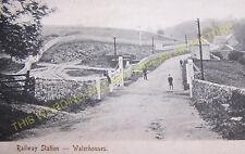 Waterhouses Railway Station Photo. North Staffs & Leek & Manifold Railways. (8)