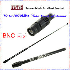 WIDE BAND Antenna BNC for Uniden Bearcat BCD325P2 BC75XLT BC125AT Police SCANNER