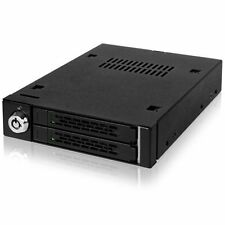 "Icy Dock MB992SK-B 2.5"" HDD Drive Adapter using 3.5"" Internal Bay Matte Black"