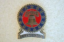 US USA USN Navy USS Independence Military Hat Lapel Pin